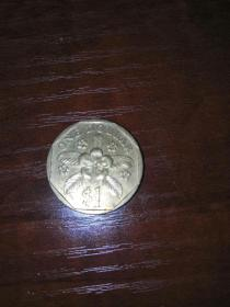 新加坡1元•硬币1989年