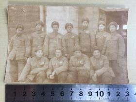 老照片【50年代,军人合影】