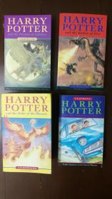 HARRY POTTER and  the prisoner of Azkaban,the Cbmber of secerets,the Gonlet of fire, the order of the pboenix 【四本合售】