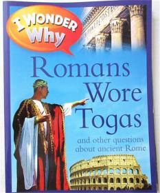 平装 i wonder why romans wore toyas 我想知道为什么罗马人穿着玩具