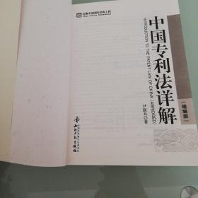 中国专利法详解(缩编版)