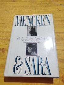 Life in Letters L.Mencken and Sara Haardt Mencken edited by Marion Elizabeth Rodgers  书信中的生活