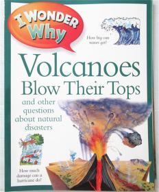 平装  i wonder volcanoes blow their tops 我想知道火山会炸毁它们的顶部