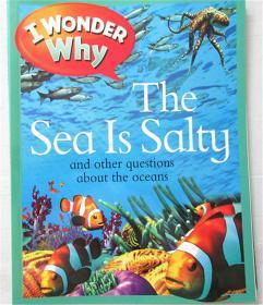 平装  i wonder  the sea is saity 我想知道大海是神的