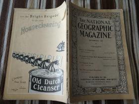 National Geographic September 1918 国家地理杂志 1918年9号  原版进口 品佳包邮