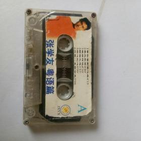 老磁带:张学友粤语专辑。自用带,音质好。