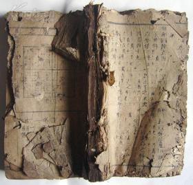 算法统宗,卷6至12,1厚册