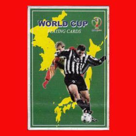 2002韩日足球世界杯纪念扑克