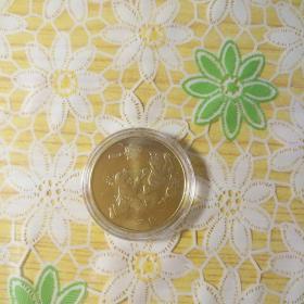 2013年蛇生肖贺岁纪念币(单枚)