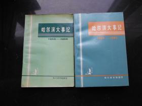 哈尔滨大事记1946-1965/ 1966——1985两本合售