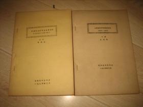 中国现代哲学史要著述评(全二册)油印本