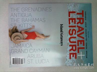 TRAVEL+LEISURE2018/02美国旅行休闲漫旅悦旅原版英外文杂志期刊