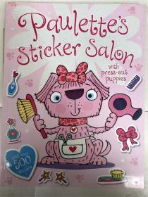 平装 带贴纸 Paulette's Sticker Salon 保莱特的贴纸沙龙