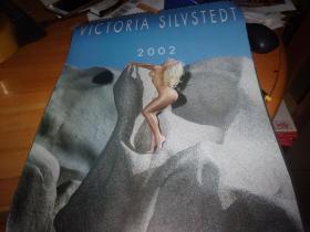 挂历---VICTORIA SILVSTEDT 2002--10页双面20幅全---性慼人体写真挂历--4开大