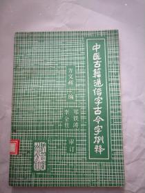 中医古籍通借字古今字例释