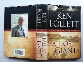 《 Fall of Giants》大国的衰亡 巨人的陨落 (世纪三部曲)第一部 英文版