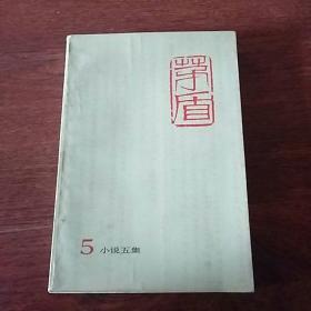 茅盾全集5小说五集(有水印见图)