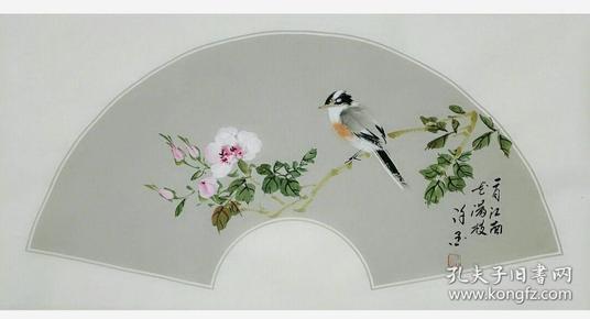 工笔花鸟画原作