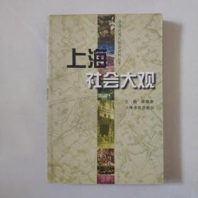 《上海社会大观》(中国近现代社会史料丛书)