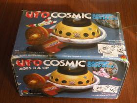 80年代 上海玩具厂库存老玩具 电动宇宙飞碟