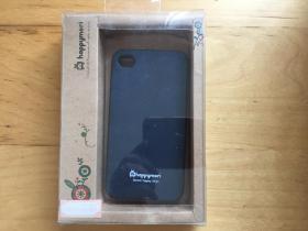 iPhone 4 手机壳 橡胶材质 (happymori)