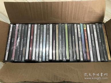 欧美音乐正版CD机唱片打包30张流行乡村说唱摇滚合辑电子随机车载