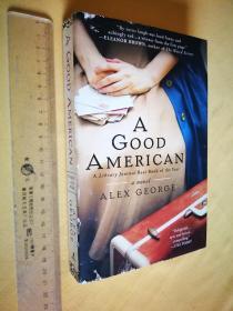 英文原版 大毛边本 A Good American