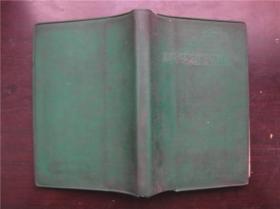 绿塑皮日记---高举毛泽东思想红旗奋勇前进---风景名胜插页