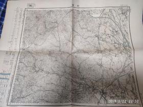 大正七年 朝鲜咸州地图 陆地测量部出版