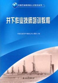 中国石油高技能人才培训丛书:井下作业技师培训教程