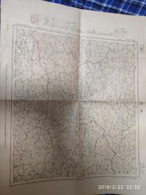 昭和七年 日本绘承德地图