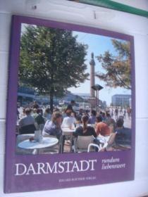 德文原版DARMSTADT  (阿姆斯特达)  布面精装图文册    保存全新 12开