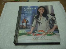 英文版 Korean Food Made Simple 精装 韩国料理 食谱 菜谱