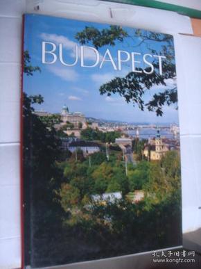 德文原版BUDAPEST (布达佩斯)  布面精装图文大画册    保存较新