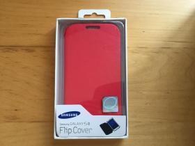 三星Galaxy S III 手机壳 仿皮革材质 (红色)