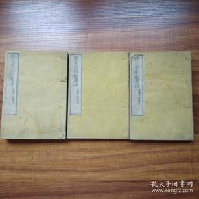 古代文学名篇选集    和刻本  《   续文章轨范篡评》3册全   1878年出版       精选中国多位古代文学家的优秀文章多篇并加以篡评    前序后跋  全汉文