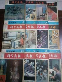 科学画报(1980年1—12集)