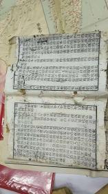 舆地广记 卷22至卷29一册 讳宁字 宁字缺末笔 道光旻宁版 白棉纸 半框23X17cm  行24字13行