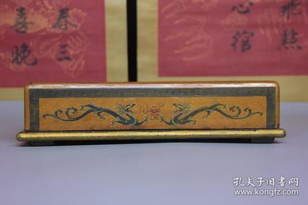 漆器龙纹盒子摆件,尺寸28.5*18.5*7.0厘米,细节图如下