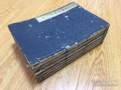 1907年和刻古代木工建筑古本《和洋建筑新雏形》线装六册全,全日本、西洋建筑绘图