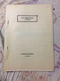 美国、英国制笔专利目录(1981)