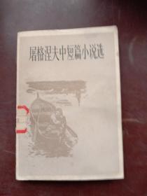屠格涅夫中短篇小说选
