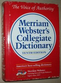 英文原版书 Merriam-Websters Collegiate Dictionary 10th Edition 16开精装本