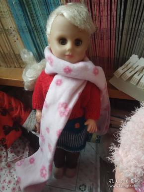 老胶皮娃娃 古董洋娃娃