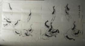 虾乐图组图四张