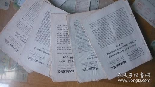 杭州大批判简报