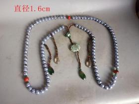 清代传世一串老珍珠朝珠