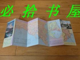 青岛游览交通图