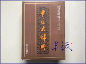 中医大辞典 1998年再版精装