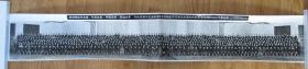 1977年 華葉鄧李汪主席接見全國自然科學學科規劃會議代表合影長照片一張 尺寸約有125*20厘米附原盒